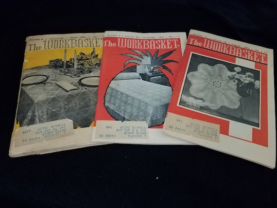 1961/The Workbasket/Crafting/Sewing/Magazine