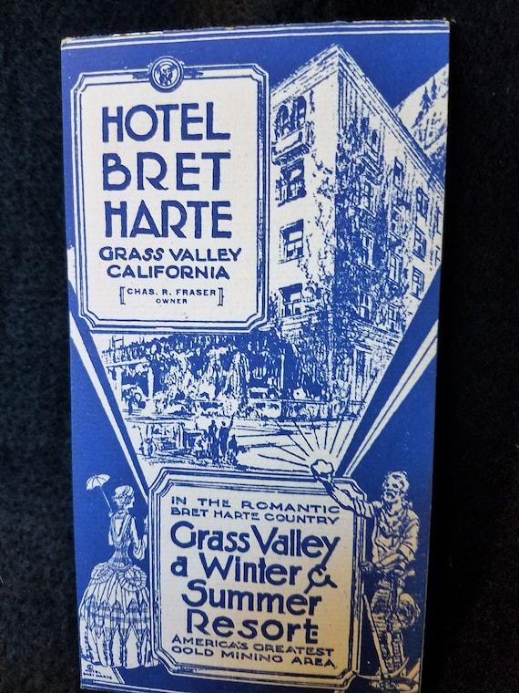 Hotel/Bret Harte/Grass ValleyCalifornia/Gold Mining