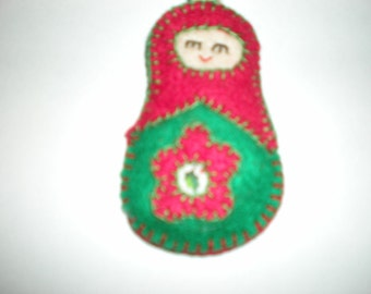Russian Doll Ornament