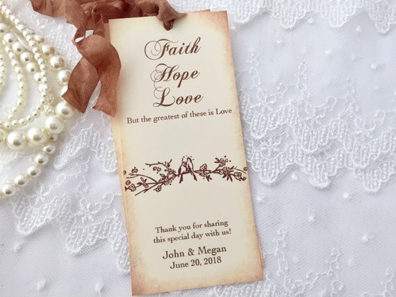 how to make bookmarks for wedding favors