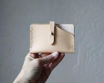 Handstitched Leather Card Wallet