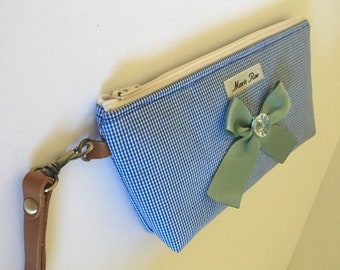 Small Zippered Pouch by maris rae handbags makeup/feminine products