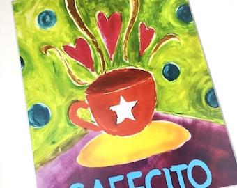 Cafecito Print 8x10