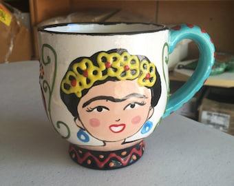 Jumbo Frida Mug - Fired Ceramics
