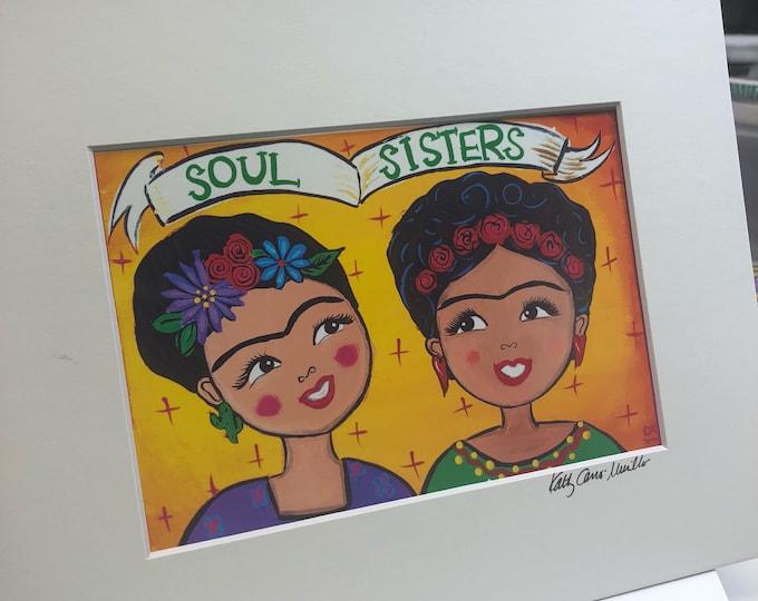 AFFIRMATION PRINT: Soul Sisters 8x10