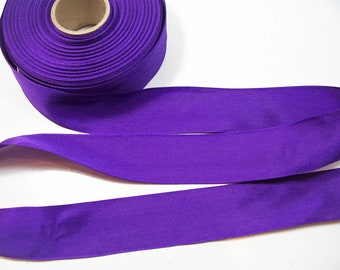"5 Yards Ombre Spring Mint Green Lilac Purple Sheer Wired Ribbon 1 3//8/""W"