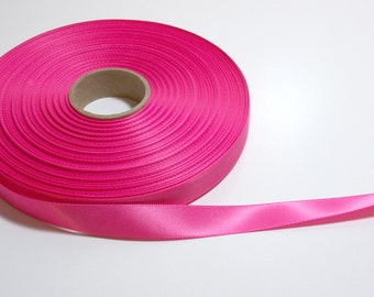 "Hot Pink 50yards x 5//8/"" Wide Nylon Webbing Neon"