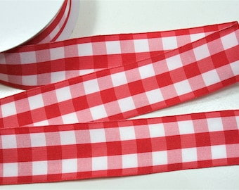 36 Message for additional increments! 1 yard 2 wide BlackWhite Diagonal Checkered Belting Ribbon to fit the Fleur and Bee Buckles