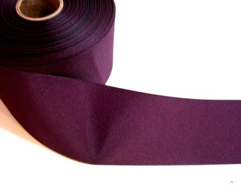 Wide Burgundy Ribbon, Wine Grosgrain Ribbon 3 inches wide x 3 yards