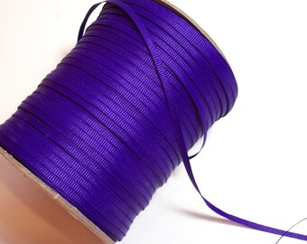 Purple Ribbon, Offray Purple Grosgrain Ribbon 1/8 inch wide x 10 yards