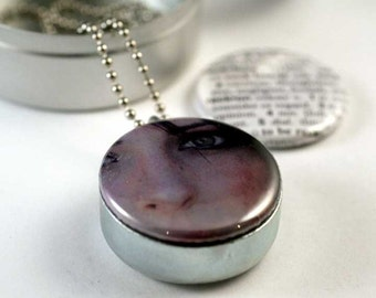PERSONALIZED Recycled Magnetic LOCKET SET By Polarity
