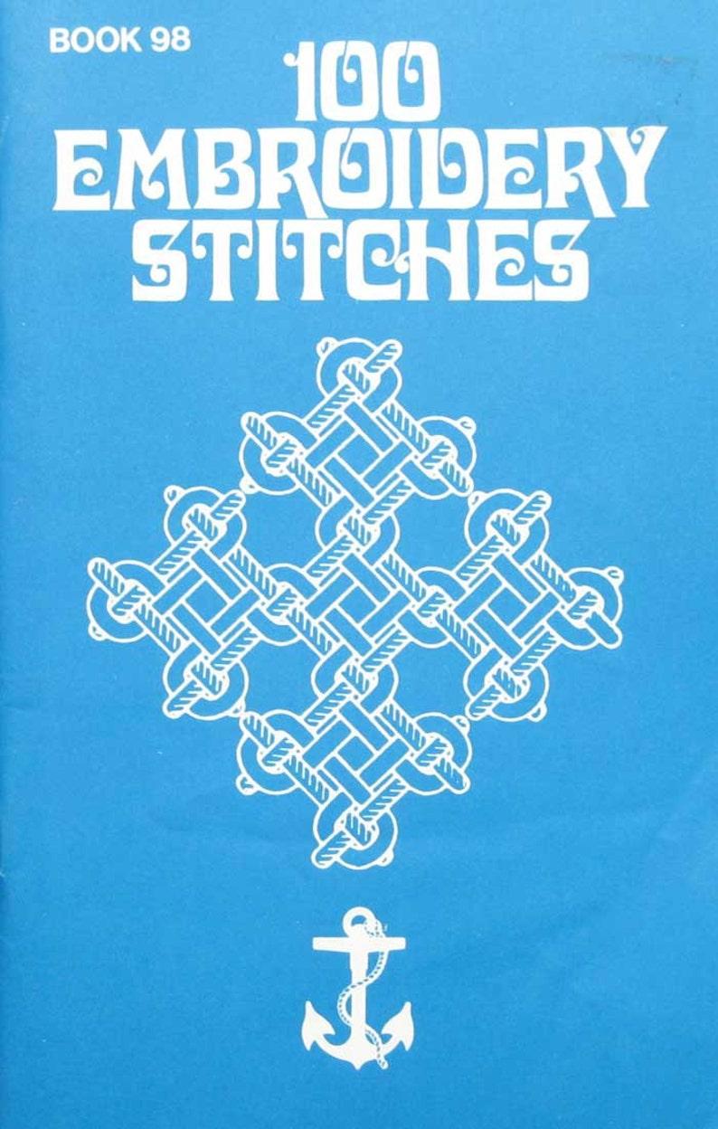 100 Embroidery Stitch Book
