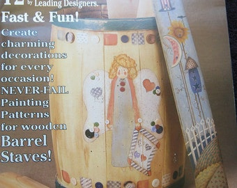 Barrels of Fun Tole Painting Pattern Book