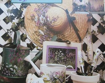 Grans Garden Tole Painting Pattern Book Ros Stallcup