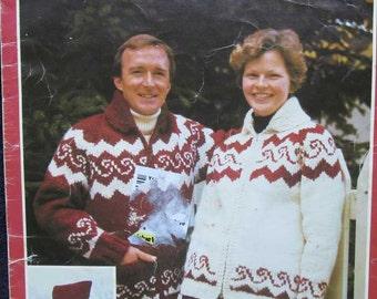 Polar Bouquet Indian Graph Knitting Sweater Pattern Arni