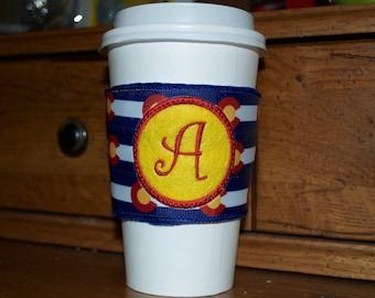 Colorado Monogramed Coffee Cozy Sleeve