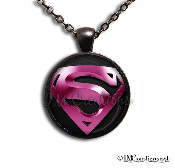 Kryptonian Symbol For Hope Glass Dome Pendant Or With Chain Etsy