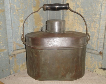 Architectural & Garden Old Coal Box Coal Box Coal Scuttle Box With Carrying Handle Lovely Luster
