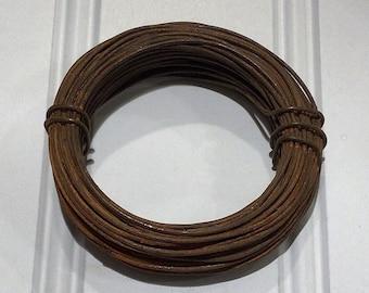 RUSTY WIRE...20 gauge...10 yards...primitive craft supplies...Chestnut Junction