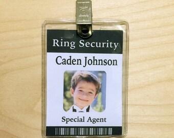 ring bearer badge etsy