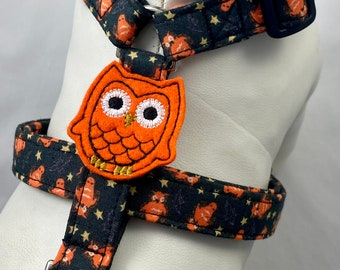 Dog Harness - Hoot Owl Halloween