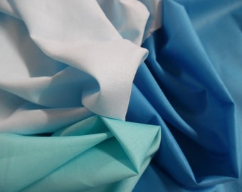 "MICRO JACQUARD PIMA COTTON~BABY BLUE~12/""x30/""~DOLLS~MINIATURES"