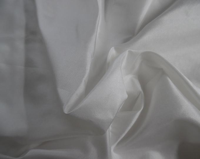 """White~ Silk Tissue Taffeta~9""""x22""""~Great 4 Miniatures~Small dolls~All dolls~Flapper"""