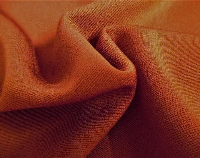 "Wool Blend Suiting~Dark Salmon~12""x28""~Doll Fabric"