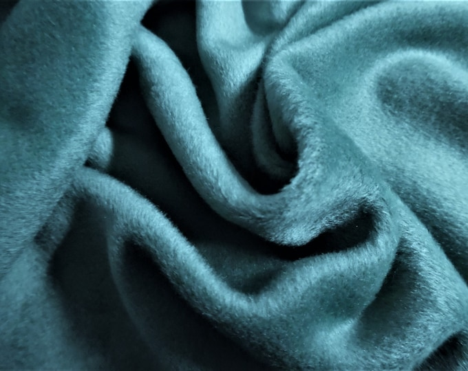 """Cashmere Wool Coating~Loden Green~12""""x30""""~Doll Fabric"""