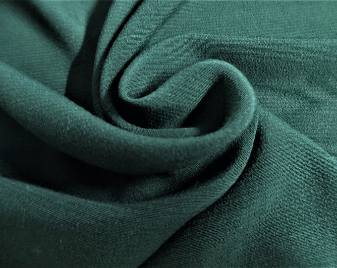 "Rayon Challis~Dark Hunter Green~12""x29""~Doll Fabric~Flapper"