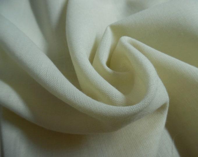 "Swiss Wool Blend Challis~SugerCookie~Semi Sheer~Light Weight~12""x30""~Doll Fabric"