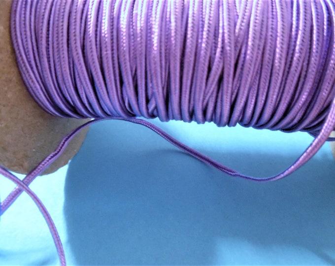 "French Style Braided Soutache~Lavender~Rayon~1/8""~Doll Trim~Three Yards"