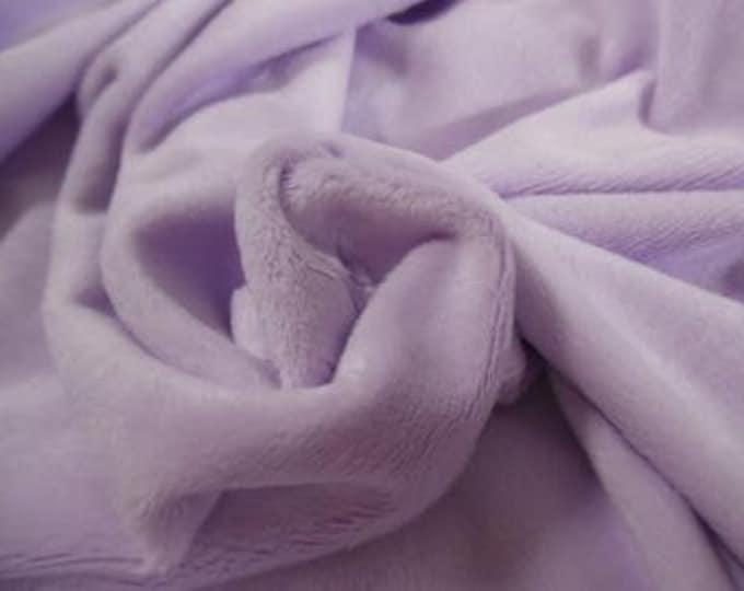 """Soft Silky Minky Faux Fur~Lavender~12""""x30""""~1/8""""Pile~Coat & Hat Trim~Coats~Capes~Hats~Muffs"""