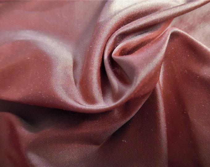 "High End Silk Taffeta~Persimmon~9""x27""~Doll Fabric"