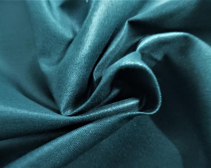 "Polished Cotton Blend~Hunter Green~12""x47""~Light Weight~Slightly Crisp"