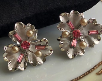 Stunning Sterling BOND BOYD Clip Earrings with Gift Box
