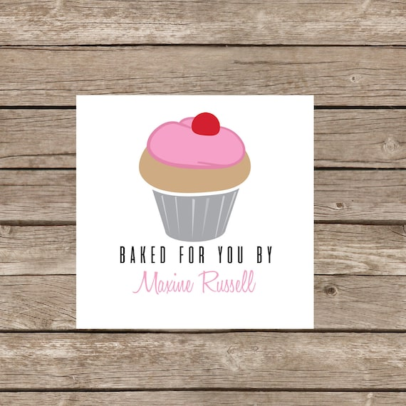 Homemade Baked Goods Stickers