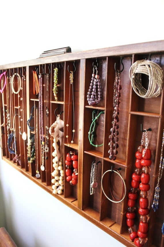 Printer Drawer Jewelry Display