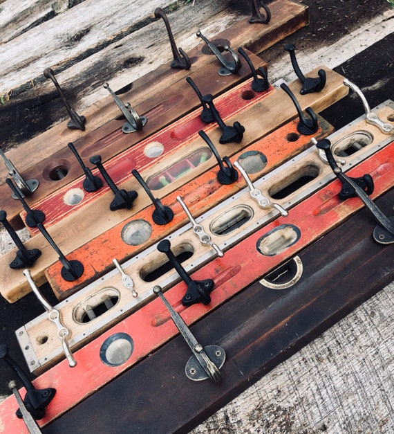 Rustic Level Coat Racks