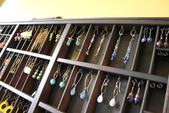 Jewelry Organizer Wall Hanging Box