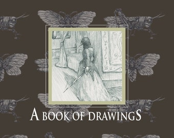 A Book of Drawings by Betsy Streeter - Signed