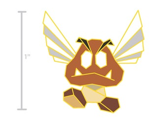 Mario Bros Pin,Goomba Pin,Super Mario Soft Enamel Pin,Enamel Pin,Super Mario Bros,Goomba Pin,Pin,Retro Game Gift,Super Mario,Nintendo Pin