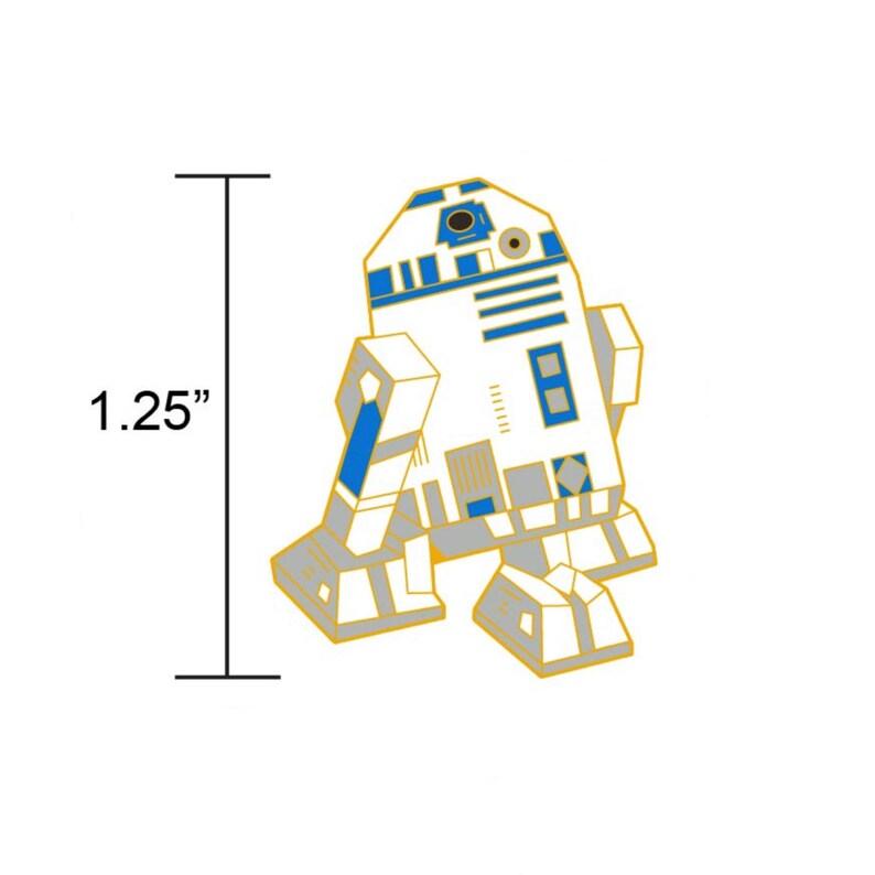 PREORDER: R2D2 PinStar Wars GiftR2D2 Soft Enamel PinEnamel image 0
