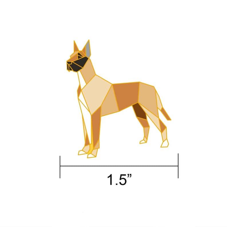Great Dane Dog Enamel PinGreat Dane Dog JewelryDog PinGreat image 0