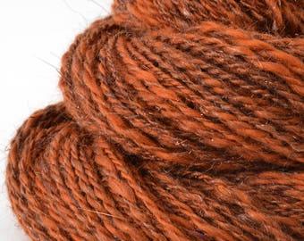 Handspun Yarn -  Hand Spun Merino Yarn - Art Yarn- 1.7oz, 150yd, 15WPI