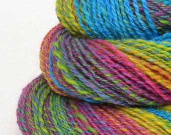 Handspun Lace Yarn -  Hand Spun Merino Yarn - Lace Art Yarn- 1.75oz, 236yd, 19WPI