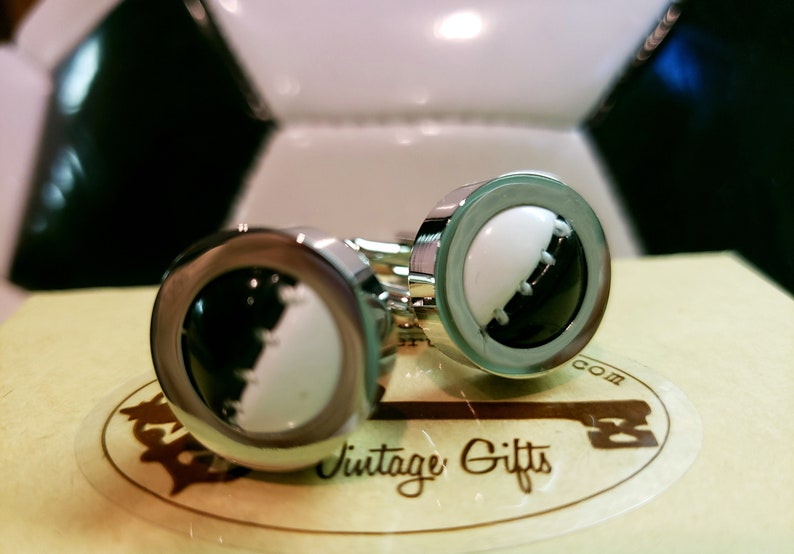 Authentic Soccer Ball Cufflinks  with Free Gift Box image 0