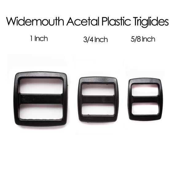 25-1 Inch Pink YKK Wide Mouth Heavyduty Triglide Slides
