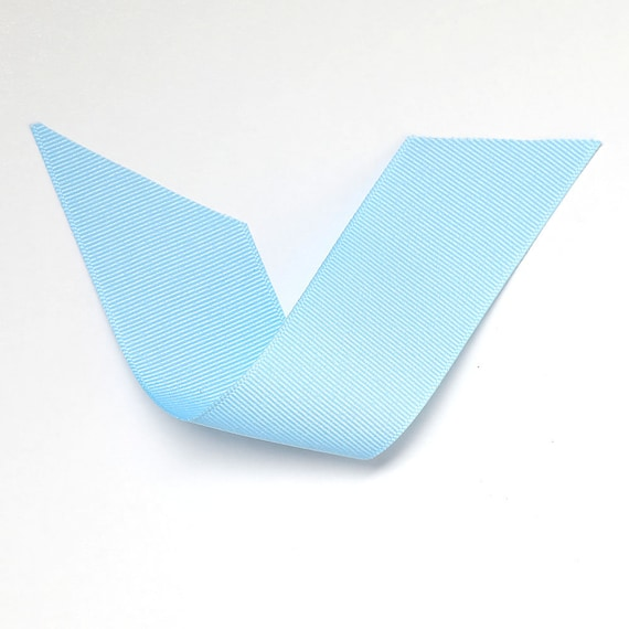 Light Blue Grosgrain Ribbon 4 Widths Berwick Offray Blue Etsy