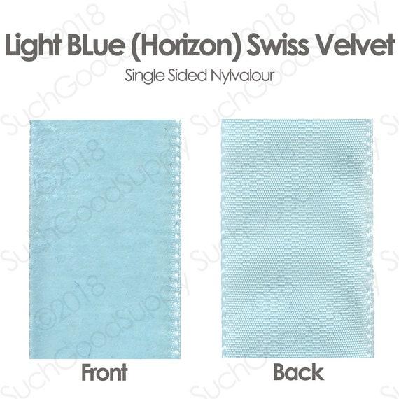Per Metre 36mm Blue Note Velvet